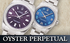 オイスターパーペチュアルの時計