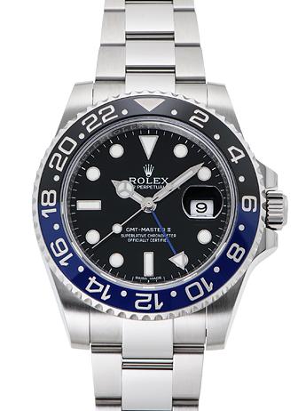ロレックス GMTマスター� 116710BLNR ブラック USED 26239