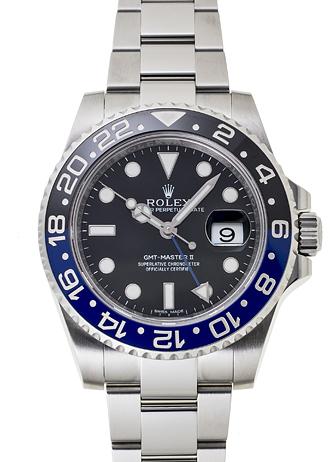 ロレックス GMTマスター� 116710BLNR ブラック USED 27150