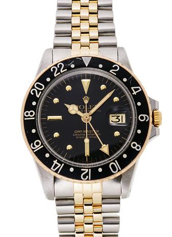 ロレックス GMTマスター 1675 ブラック アンティーク 31097