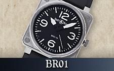 ベル&ロス_BR01の時計