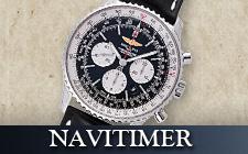 ブライトリング_ナビタイマーの時計