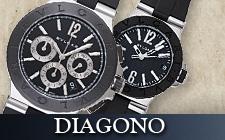 ブルガリ_ディアゴノの時計