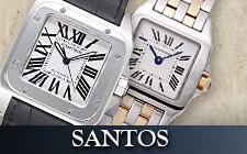カルティエ_サントスの時計