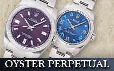 ロレックス_オイスターパーペチュアルの時計