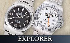 エクスプローラーの時計