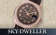 ロレックス_スカイドゥエラーの時計
