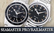 オメガ_シーマスタープロ/レイルマスターの時計