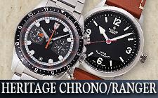 チューダー/チュードル_ヘリテージクロノ/レンジャーの時計