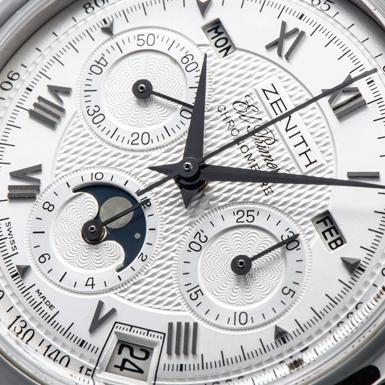 timeless design 3b007 1e913 ゼニス クロノマスター エルプリメロ T ムーンフェイズ 01.0240 ...