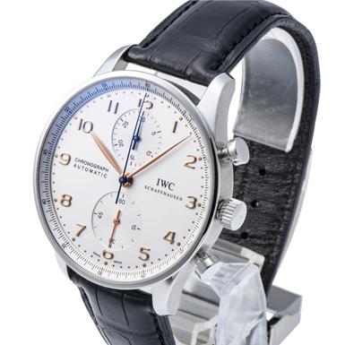 30f1003f50 IWC ポルトギーゼ クロノグラフ IW371445 ホワイト 新品 36458 _ブランド時計:格安通販【かめ吉】