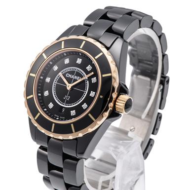 premium selection bdc36 80e6e シャネル J12 H2543 ブラック USED 37126 _ブランド時計:格安 ...