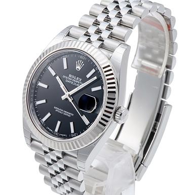 premium selection dc882 3e75c ロレックス デイトジャスト41 126334 ブラック 新品 37976 _ ...
