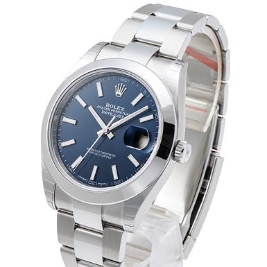 innovative design 7c0d9 0098f ロレックス デイトジャスト41 126300 ブルー 新品 38436 _ ...