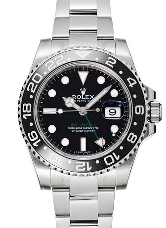 ロレックス GMTマスター� 116710LN ブラック 新品 13544