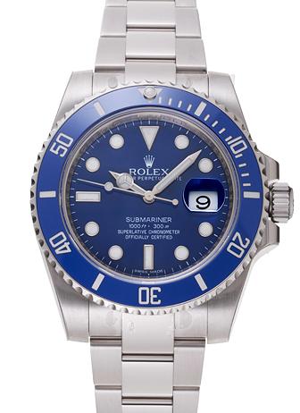 ロレックス サブマリーナ デイト 116619LB ブルー 新品 15842