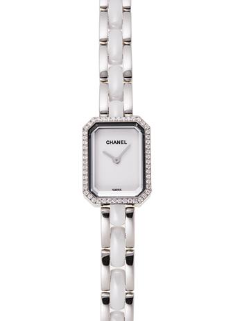 シャネル プルミエール H2132 ホワイト 新品 15965