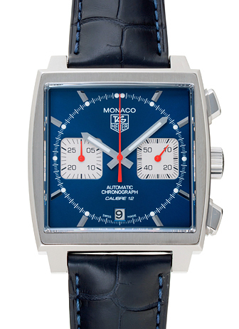 watch 4f5a1 5a666 タグ・ホイヤー モナコ クロノグラフ CAW2111.FC6183 ブルー ...