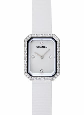 シャネル プルミエール H2433 ホワイト 新品 16914