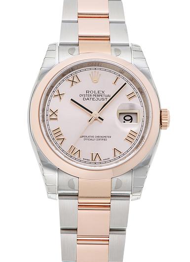 ロレックス デイトジャスト 116201 ピンク 新品 18321