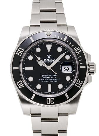 buy popular 0cd91 4999c ロレックス サブマリーナ デイト 116610LN ブラック USED 19050 ...