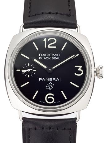 パネライ ラジオミール ブラックシール ロゴ PAM00380 ブラック 新品 20291