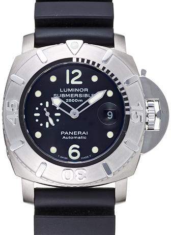 パネライ ルミノール サブマーシブル2500m PAM00285 ブラック USED 20570