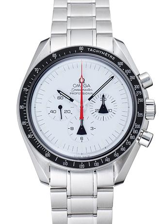 オメガ スピードマスター アラスカプロジェクト 311.32.42.30.04.001 ホワイト USED 21191