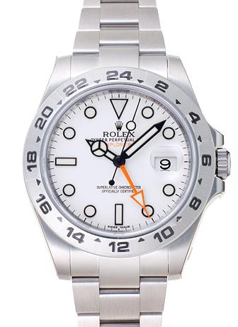 quality design 86d3f d9048 ロレックス エクスプローラーⅡ 216570 ホワイト 新品 21296 _ ...