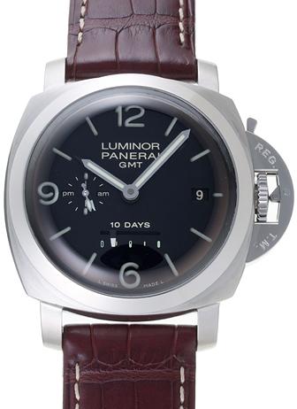 huge discount f4846 0ee22 パネライ ルミノール1950 10Days GMT PAM00270 ブラック USED ...