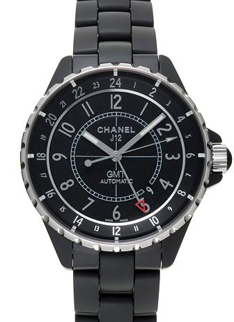 シャネル J12 GMT H3101 ブラック 新品 23159