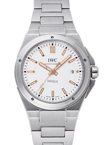 IWC インヂュニア IW323906 シルバー USED 28181