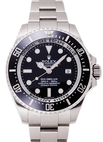 ロレックス シードゥエラー ディープシー 116660 ブラック USED 30481