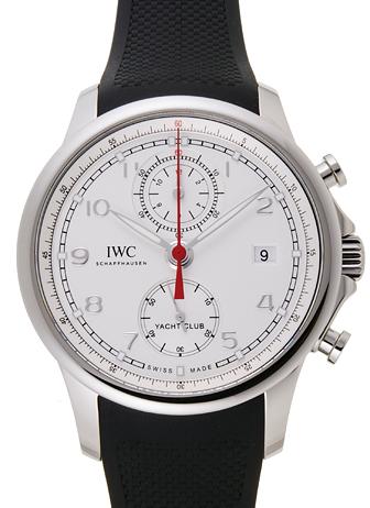 IWC ポルトギーゼ ヨットクラブ クロノグラフ IW390502 シルバー 新品 31090