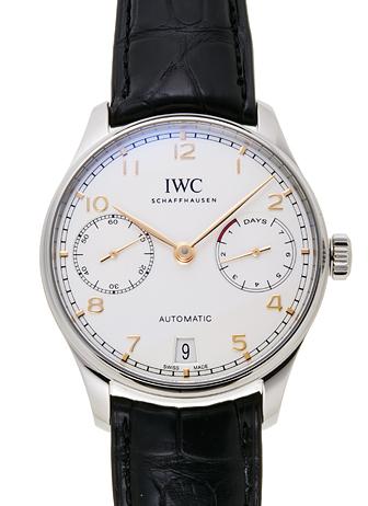 IWC ポルトギーゼ 7デイズパワーリザーブ IW500704 シルバー