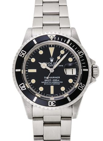 lowest price a408e 415e5 ロレックス サブマリーナ デイト 1680 ブラック アンティーク ...