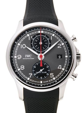 IWC ポルトギーゼ ヨットクラブ クロノグラフ IW390503 グレー/ブラック 新品 31506
