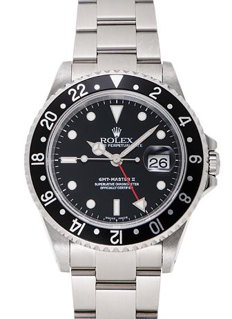 ロレックス GMTマスター� 16710 ブラック USED 32382