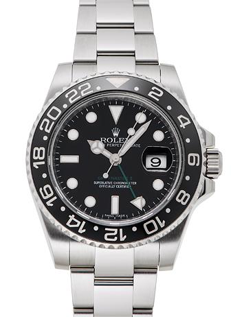 ロレックス GMTマスター� 116710LN ブラック USED 33109