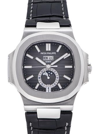 timeless design a9836 124f6 パテックフィリップ ノーチラス 年次カレンダー 5726A グレー ...