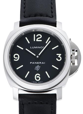 パネライ ルミノール ベース ロゴ アッチャイオ PAM01000 ブラック 新品 35039
