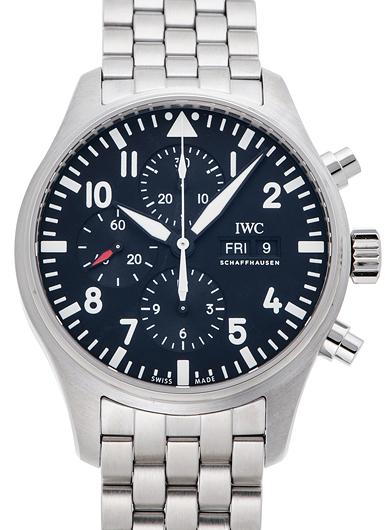 IWC パイロットウォッチ クロノグラフ IW377710 ブラック