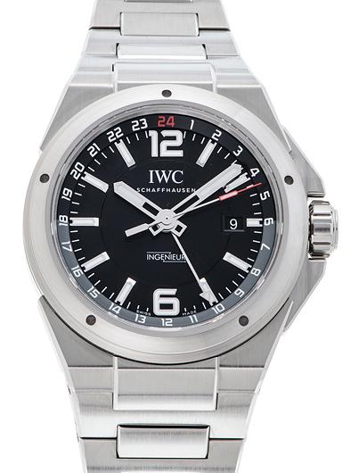 IWC インヂュニア デュアルタイム IW324402 ブラック 新品 39028