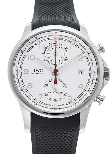 IWC ポルトギーゼ ヨットクラブ クロノグラフ IW390502 シルバー