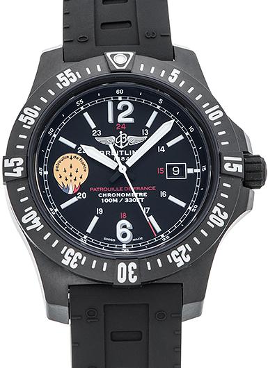 ブライトリング コルト スカイレーサー パトル−ユ ド フランス X74320B8/BG40 ブラック 新品 39968