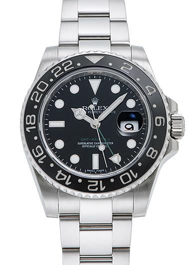 ロレックス GMTマスター� 116710LN ブラック USED 42194