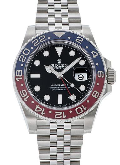 ロレックス GMTマスター� 126710BLRO ブラック USED 42468