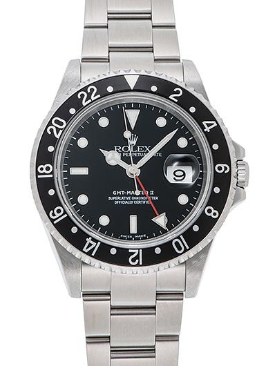 ロレックス GMTマスター� 16710 ブラック USED 43162