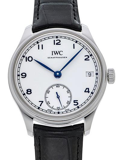 IWC ポルトギーゼ ハンドワインド 8デイズ IW510212 ホワイト 新品 43813