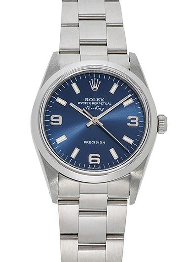 ロレックス エアキング 14000 ブルー USED 43898